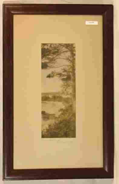Wallace Nutting - Pine Landing
