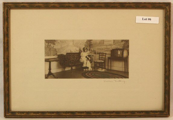 6: Wallace Nutting - Untitled Interior Scene