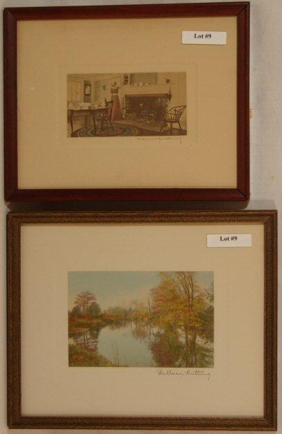 9: Wallace Nutting - Interior & Exterior Scenes
