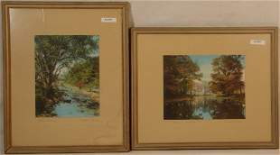 Wallace Nutting - Two Picture lot