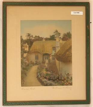 Wallace Nutting - Bride's Nest - Ireland