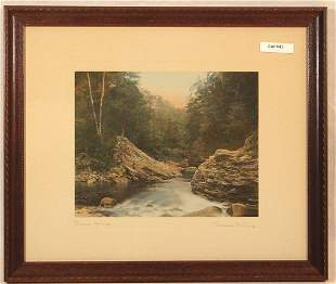 Wallace Nutting - Vilas Gorge