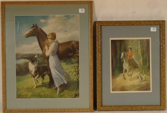 20: Zula Kenyon - Two Lady Rider Prints