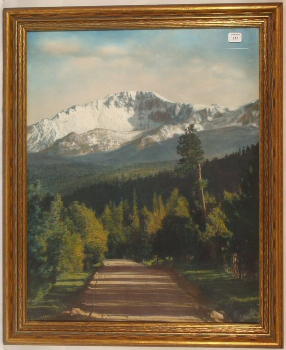 235: Standley - Pikes Peak from Woodland Park, Colorado
