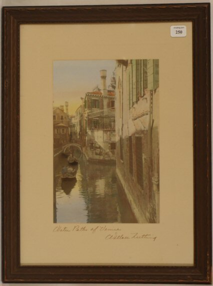 250: Wallace Nutting - Water Paths of Venice