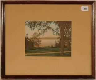 Charles Sawyer - Adirondacks, Lake Champlain