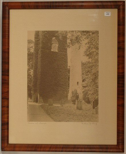 475: Wallace Nutting - Tower at Swords