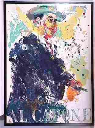 Leroy Neiman - Al Capone - Limited Edition Print