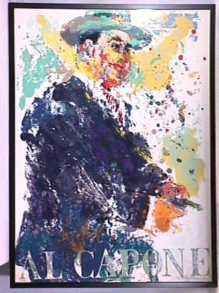 1: Leroy Neiman - Al Capone - Limited Edition Print