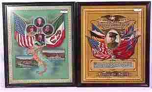 Pair of World War I Patriotic Prints