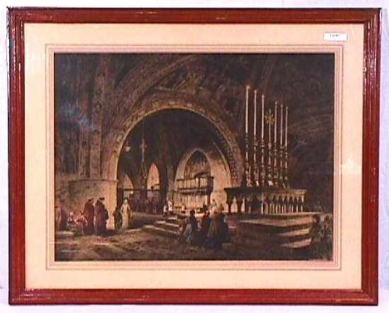 17: Campbell Art Print - European Cathedral
