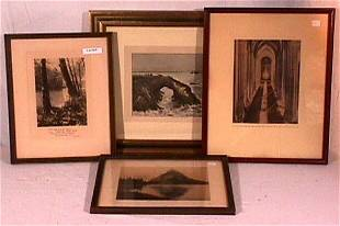 Photographer Unknown - Lot of 4 Pictures