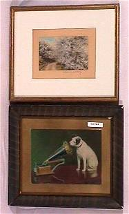 Wallace Nutting and RCA Nipper Lot