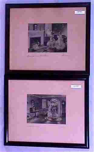 Bessie Pease Gutmann - Two Colonial Scenes