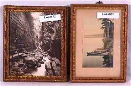 852: Charles Sawyer - Lot of Two Pictures