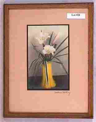 Wallace Nutting - Untitled Floral Scene