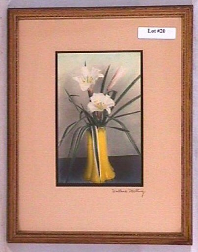 20: Wallace Nutting - Untitled Floral Scene