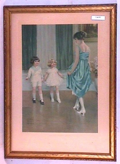 1: Bessie Pease Gutmann - The First Dancing Lesson