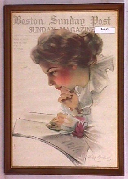 3: Philip Boileau - Framed 1914 Pretty Girl Cover