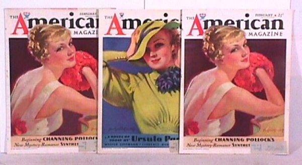 7: Bradshaw Crandell - 3 Pretty Girl Magazine Covers