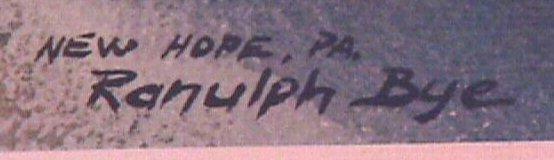 11: Ranulph Bye - New Hope & Collegeville PA Prints - 2