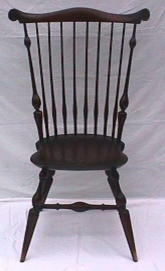 550: Wallace Nutting -#327 Windsor Fan Back Side Chair