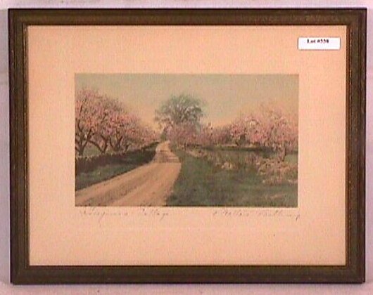 558: Wallace Nutting - Honeymoon Cottage