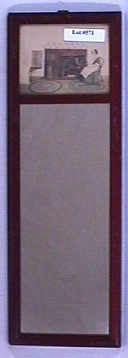 571: Fred Thompson - Interior Scene in Small Mirror