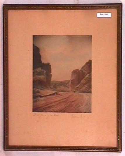 600: Wallace Nutting - In the Garden of the Gods - Rare