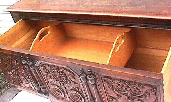 650: Kittinger Furniture Company - Sunflower Chest - 4