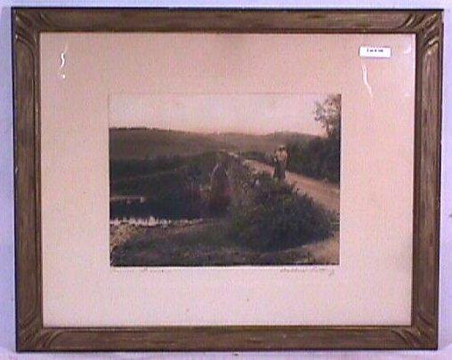 760: Wallace Nutting - Lorna Doone - Rare England