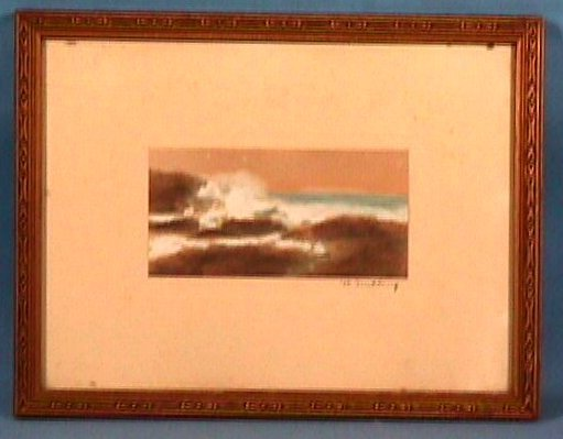 5: Wallace Nutting - Untitled Seascape