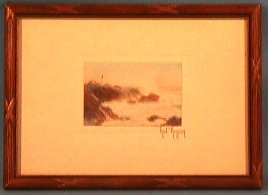 197: Fred Thompson - Untitled Seascape