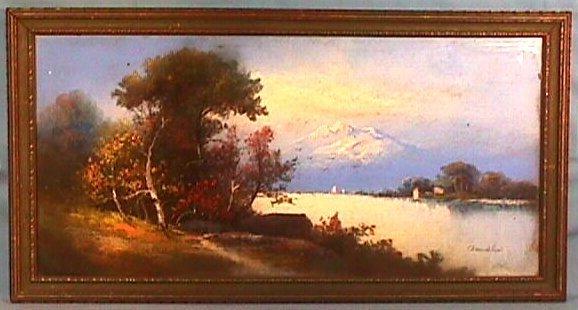 200: William H Chandler - Landscape Pastel
