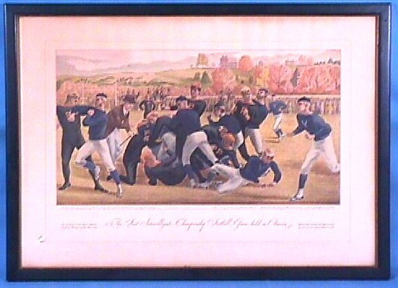 206: Currier & Ives - Football Game
