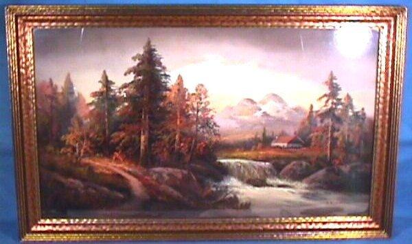 208: William H Chandler - Landscape Pastel