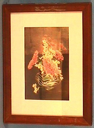 212: Wallace Nutting - Re-mounted Floral