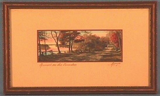 224: Sawyer - Sunset on the Kennebec