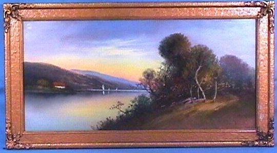 229: William H Chandler - Landscape Pastel