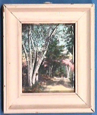 234: Wallace Nutting - Miniature Exterior