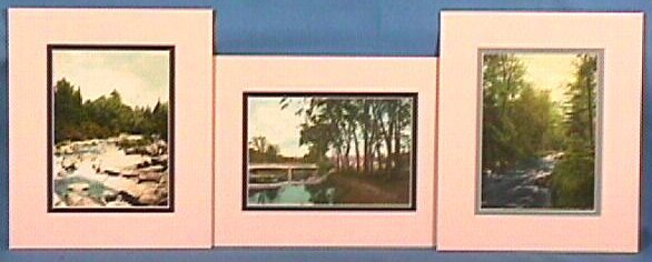 236: Wallace Nutting - Lot of 3 Exteriors