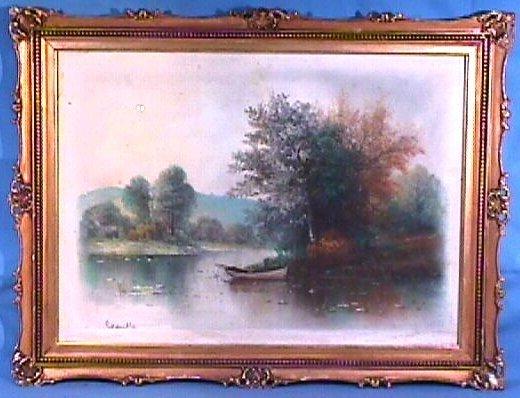 238: William H Chandler - Landscape Pastel