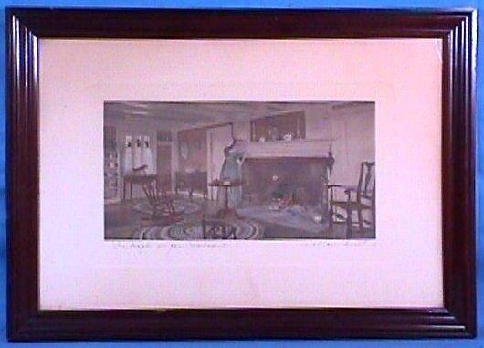 205: Wallace Nutting - Maple Sugar Cupboard