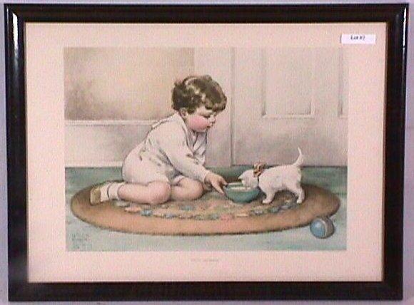 2: Bessie Pease Gutmann - Kitty's Breakfast