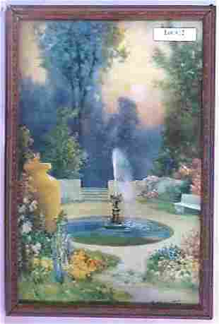 R Atkinson Fox - Garden of Romance