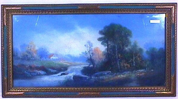18: William H Chandler - Landscape Pastel