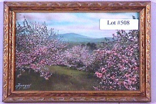 508: Charles Sawyer - Kearsarge Blossoms
