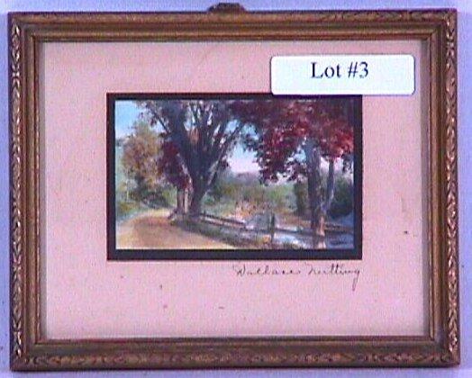 3: Wallace Nutting - Miniature Exterior
