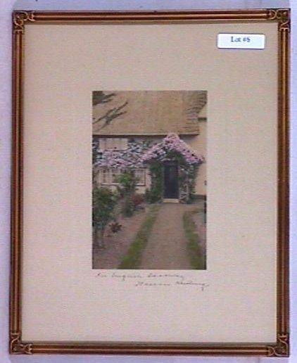 6: Wallace Nutting - An English Doorway