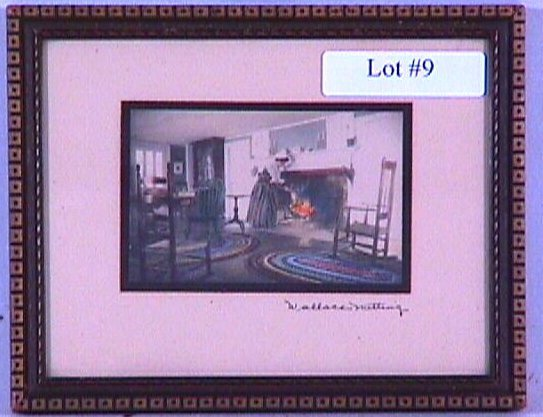 9: Wallace Nutting - Miniature Interior